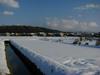 120129 農業用水路と雪.jpg