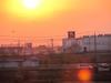 130403 夕日とナフコ.jpg