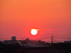 130920 オレンジ色の夕日.jpg