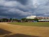 151011 厚い雲と乾いたグランド 淀江の浄水場.jpg