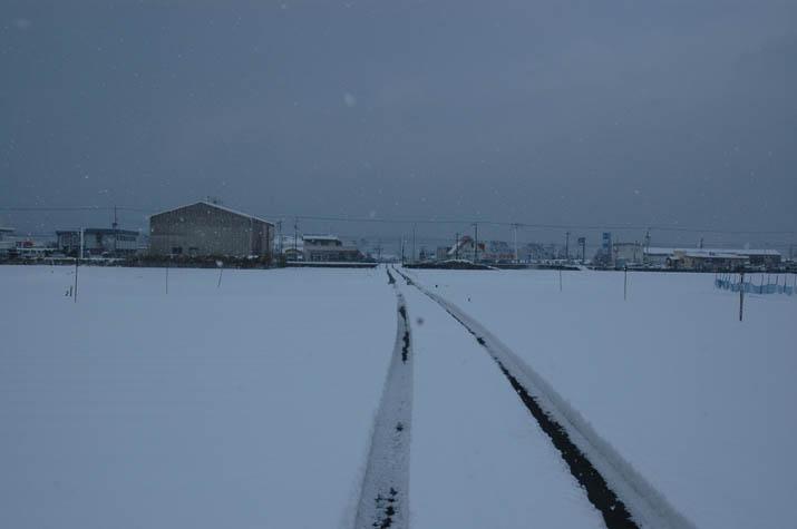 雪の降った日・・・淀江町内