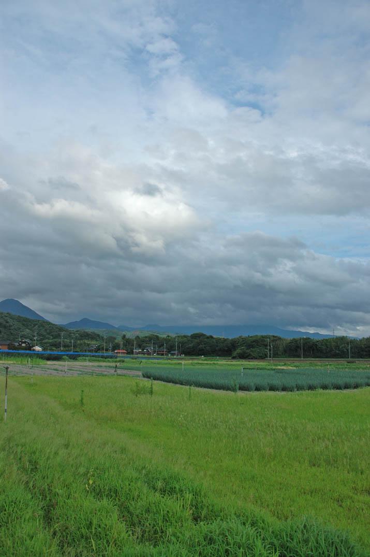 090713 今日の雲と大山.jpg