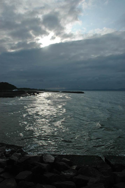 090802 日暮れ前の雲と美保湾.jpg