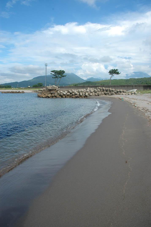 090807 淀江海岸から見る大山.jpg