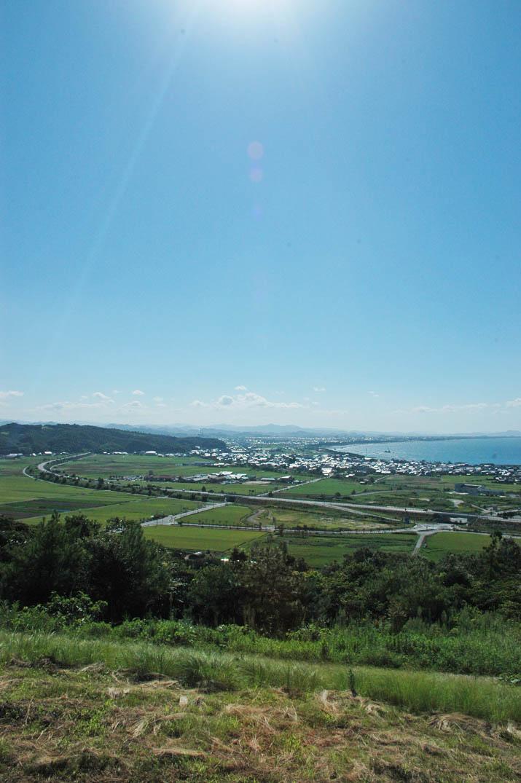 090826 美保湾 遺跡からの眺めjpg