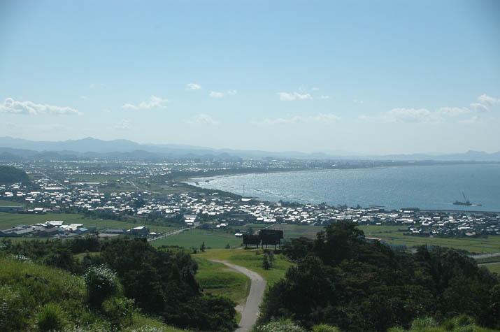 090826 妻木晩田遺跡から見る米子.jpg