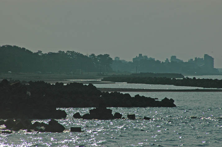 090827 皆生温泉方向の海岸.jpg
