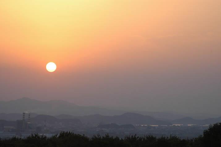 091019 米子に沈む夕日.jpg