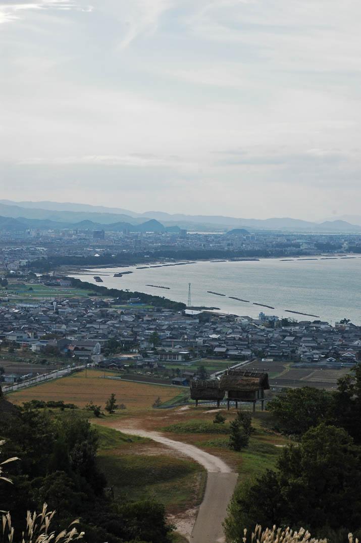 091105 妻木晩田遺跡から見る米子市.jpg