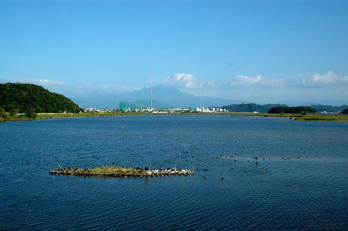 100k_007 米子水鳥公園から眺める大山