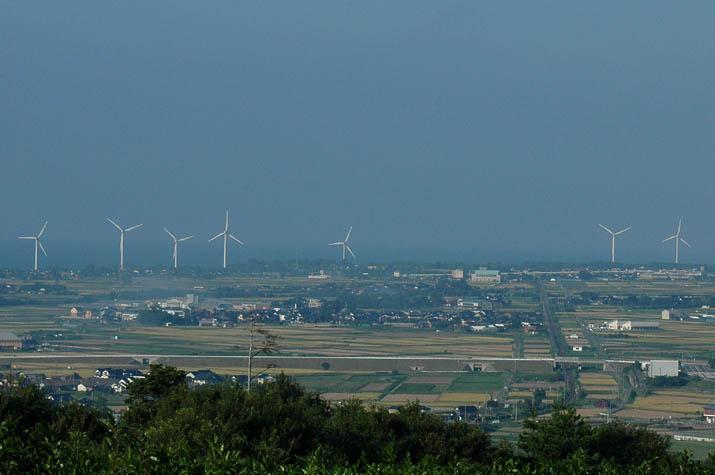 100k_030 大山町の風車