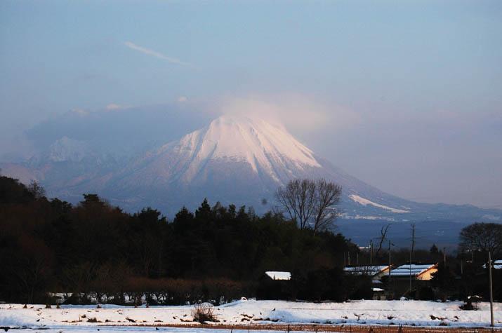 100k_034 雪の日の大山