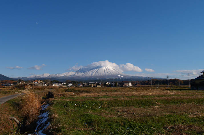 100k_046 大山の雪景色