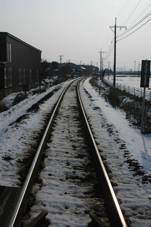 100102 米子へ向かう線路