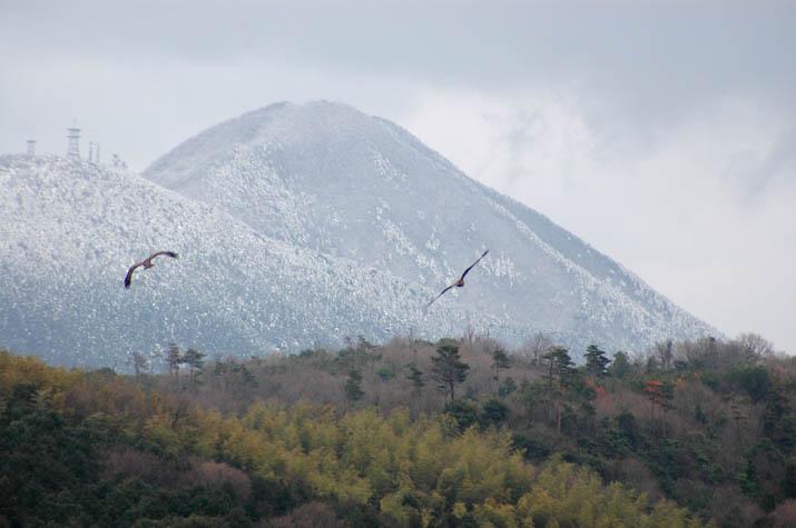 100310 孝霊山と鍋山.jpg