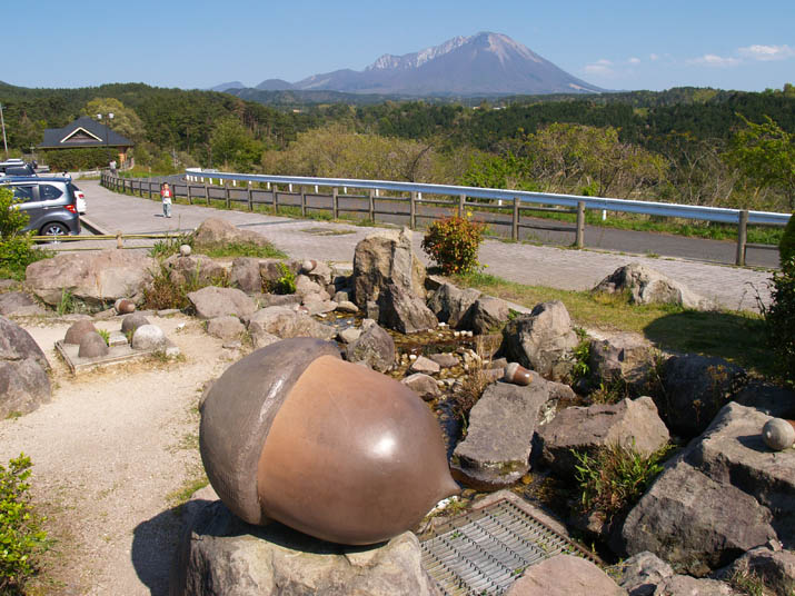 100512 大きなどんぐりと大山.jpg