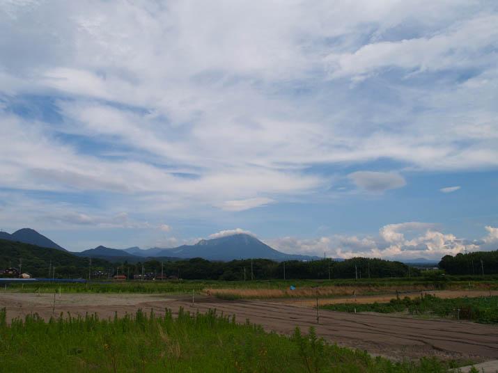 100717今日の空と大山.jpg