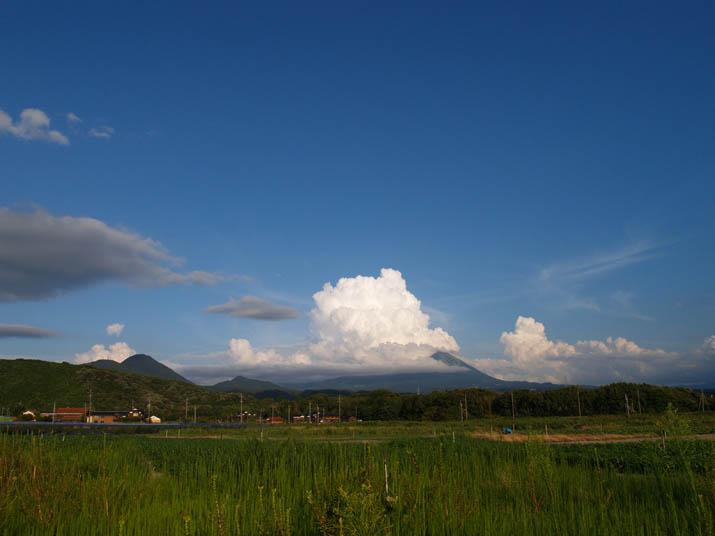 100816 入道雲と大山.jpg