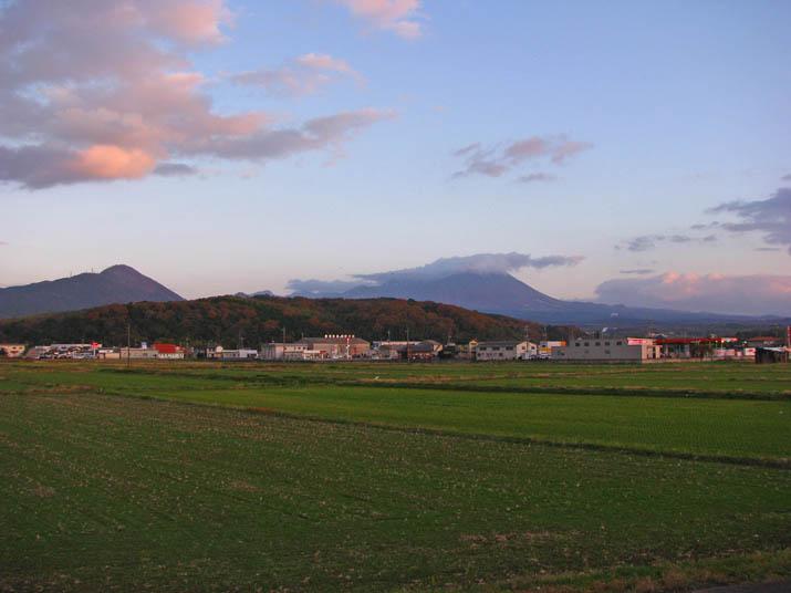 111205 夕方の大山.jpg