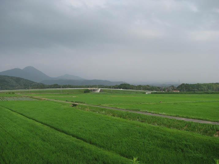 120712 隠れた大山と緑の草原.jpg