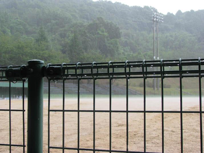 120814 雨による中断 淀江公民館野球大会.jpg