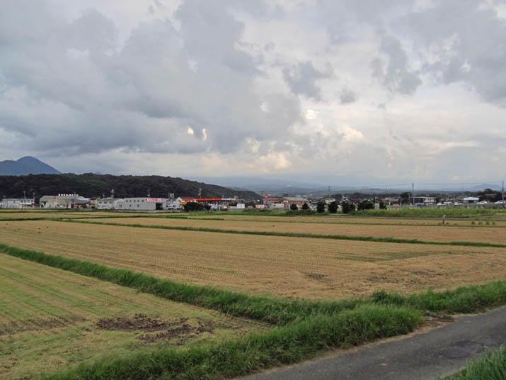 120924 刈り取られた田と消えた大山.jpg