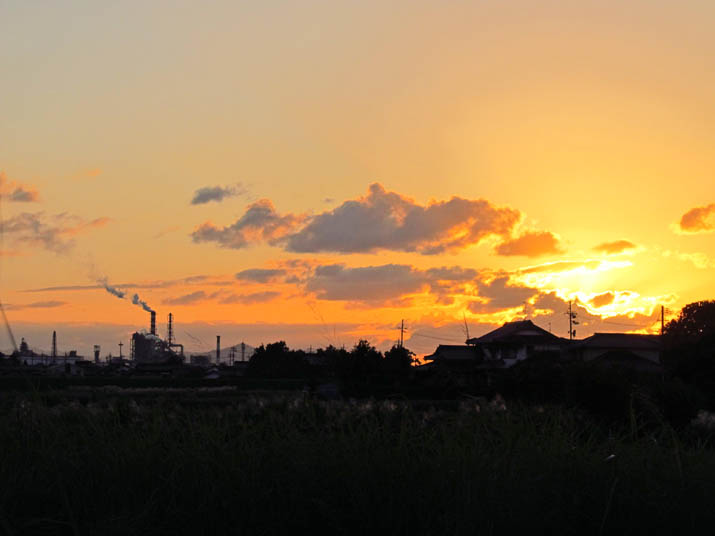 121004 夕日と王子製紙.jpg