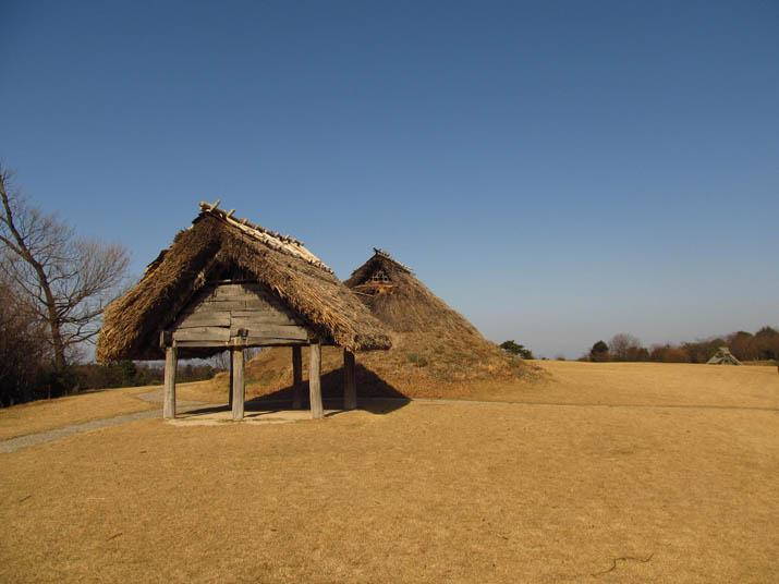 130302 妻木晩田遺跡の古い建物.jpg