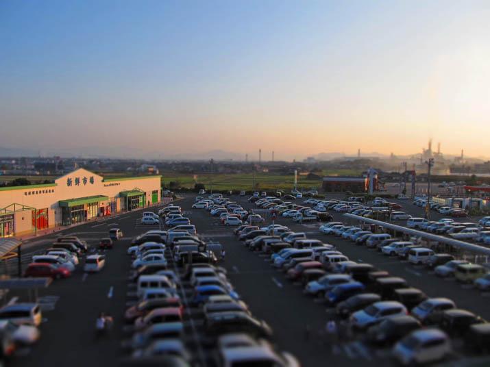 131014 イオン日吉津の2階駐車場から.jpg