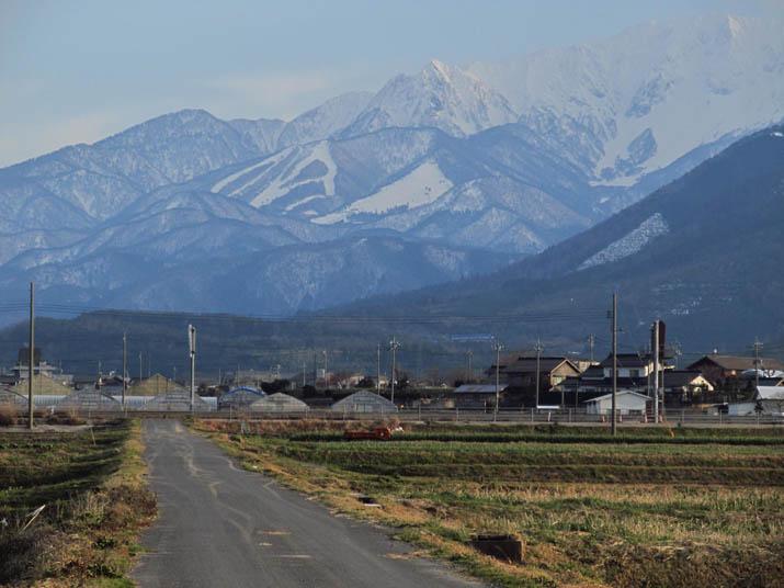 大山の北側